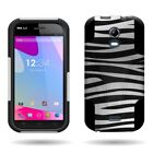 Maximum Drop Rugged Armor Hybrid Phone Cover Case for For BLU Life Play S