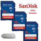 Genuine SanDisk 8GB/16GB/32GB SD Secure Digital SDHC Memory Card f Camera Tablet