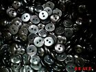 Small 12mm Black 20L Quality 2 Hole Buttons Craft Joblot Various Packs (BB44)