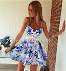 Sexy Women Summer Casual Sleeveless Party Evening Cocktail Short Mini Dress NEW