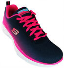 Skechers Equalizer Girl's Pink Non-marking Lightweight Memory Foam Trainers New