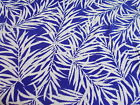 Purple Fern summer dress fabric VISCOSES sold by the metre 140cm wide