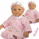 "Molly P Originals 13"" Nikki Vinyl and Cloth Baby Doll With Blanket"