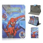 For RCA Various Tablet Kids Super Hero Disney Cute Cartoon PU Leather Case Cover