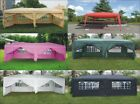10x20 FT EZ POP UP 6 WALLS CANOPY PARTY TENT GAZEBO WITH ...