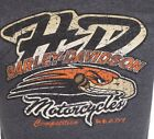 HARLEY DAVIDSON Mens T-Shirt COMPETITION Tattoo Motor Cycle Biker UFC S-5XL $45