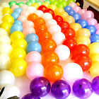 "Best 100 X 10"" inches Mix-color latex Pearlised balloons party wedding birthday"