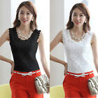 Fashion Sexy Ladies Lace Tank Top Sleeveless T-shirt Vest Camisole Tee Blouse