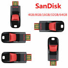 Genuine SanDisk 4GB/8GB/16GB/32GB/64GB USB2.0 Cruzer Flash Drive Memory Stick ME