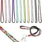New Fashion Strap ID Card Key Holder Custom Rhinestone Lanyard