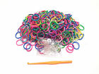 300PCS  Loom Kit Bands Rubber Each Pack 300PCS+12 Clips Free 4Charms