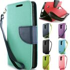For LG Logos / Escape 2 / Spirit LTE Wallet Case - Credit Card Stand Phone Cover