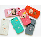 HelloGeeks Silicon iPhone6 Cellphone Smart Cover Case Skin for Apple iPhone 6