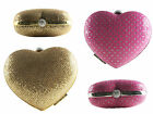 NEW LADIES BRIDAL, BRIDESMAID, PROM,PARTY  HARD SHELL HEART SHAPED CLUTCH PURSE
