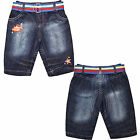 Baby Boys Jeans Babies Belted Denim Trouser Cotton Fashion Jeans Age NB-2 Years