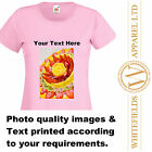 Womens Customised Personalised Printed Tshirt Photo Stag Hen Run Event Birthday