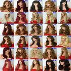 Wig Long Curly Straight Wavy Synthetic Wig women party natural wig halloween
