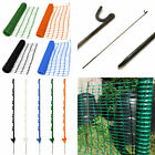 BIGGEST CHOICE Plastic Barrier Safety Mesh Fence Netting Net Fencing Pins