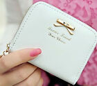 Newly Lady Simple Coin Purse Bag Zipper Small Wallet Card Package Short Purse