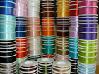 Full Reel Double Sided SHINDO SATIN Quality Tying Ribbon Crafts 6mm x 50m