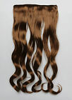 Fashion A five-card long curly hair piece big wave wig can straighten hot roll
