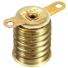 2 5 10 20 pcs E10 Straight Copper Light Bulb Screw Base PCB Socket Lamp Holder