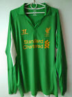 RARE!!! EXCELLENT!!! 2012-13 Liverpool Home Goalkeeper Shirt S or XL