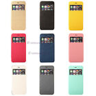 9 Color View Window Flip Cover Folio Case for Various Sony Phones