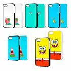 SPONGEBOB SQUAREPANTS PHONE CASE COVER FOR iPHONE 4 5 6 iPOD 4th 5th FP