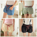 Summer Chiffon Short Trousers Women Lady Elastic  Shorts Pants Slim Bloomers