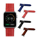 38mm Genuine Leather Buckle Wrist Watch Strap Band Belt for iWatch Apple Watch