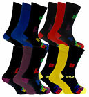 Mens Supersoft Comfy Bamboo Rich Socks In Plain And Squares Design 3 Pair Pack