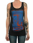 Women's Burlesk by Ian McNiel Tattooed Sexy Vintage Burlesque Pin Up Tank Top