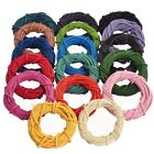 3M/5M Real Leather Necklace Charms Rope String Cord Jewelry Making1mm-3mm