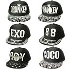 Newest design youth Hip-Hop Cool Snapback Baseball Caps Adjustable Sunproof Hat