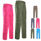 Women's Quick-Drying Lightweight Action Work Hiking Walking Trousers Pants S M L