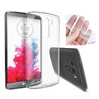 Transparent Crystal Clear Ultra Thin TPU Back Case Cover Skin for LG G4 G3 G2