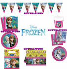 FROZEN PARTY SUPPLIES! ANNA ELSA OLAF PARTYWARE PLATES CUPS TABLECLOTH AND MORE!