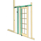 Coburn Hideaway Stud Wall Sliding Pocket Door Frame Kit Internal Doors En-Suite