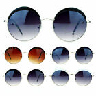 SA106 Womens Plastic Eyelash Round Circle Lens Hippie Gradient Lens Sunglasses