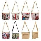 Fashion Women European Style Digital Printing Bag Cosmetic Messenger Handbag W