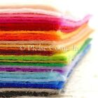 1mm Felt Sheet Choose Your Own Colour 30cm x 20cm
