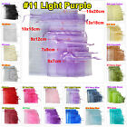 25pcs 5x7cm Wedding Party Favour Organza Gift Bags Jewellery Packing Pouches
