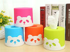 1PC Household Panda Tissue Paper Box Cover Case Holder Home Decoration BA923-925