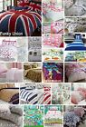 Father Christmas Tree Xmas Quilt Duvet Cover Bedding Bed Sets Reindeer Santa