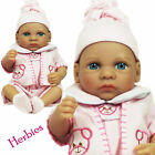"Molly P Originals 12"" Janet Vinyl and Cloth Baby Doll With Blanket"