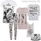 Ladies Lion King Pj Short Set Nightie Pyjamas Leggings T Shirt Uk 6-20 Primark