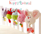 ELC cute animal mouse rabbit sheep cattle donkey pull music baby placate toy 1pc