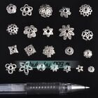 Tibetan Silver Metal Flower Loose Spacer Beads Caps Lots 6mm/8mm/10mm/12mm/16mm