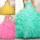 In stock 2017 Quinceanera Dresses for 15 years Formal Prom Party Gowns